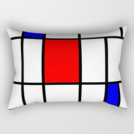 Mondrian #63 Rectangular Pillow