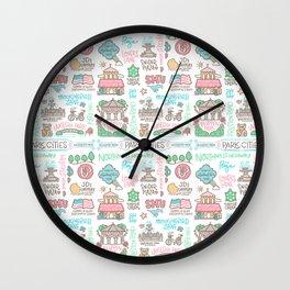 Park Cities Wall Clock