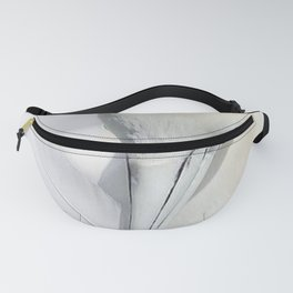 White Feathers Fanny Pack