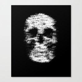 Love Kills 1 Canvas Print