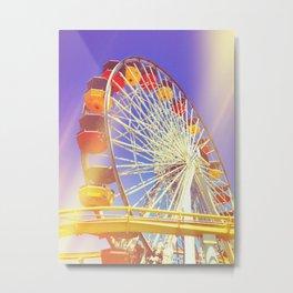 Farris Wheel Metal Print