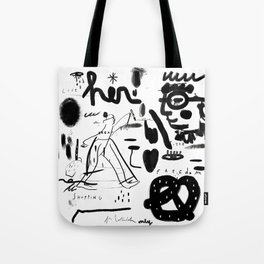 Flipper Tote Bag