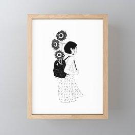 The Sunny Road Framed Mini Art Print