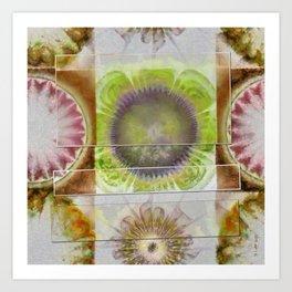 Rueful Naked Flower  ID:16165-043820-63011 Art Print