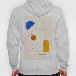 Minimal Geometric Shapes 65 Hoody