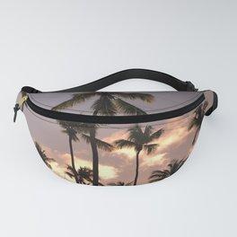 Palm Tree Sunset Fanny Pack