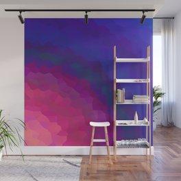 Abstract Mixed Media Series Sunset 27 Wall Mural