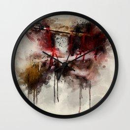 Shibari painting Wall Clock