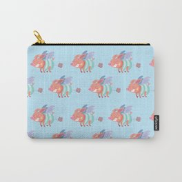 flying pig farts Carry-All Pouch