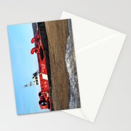 Hovercraft on the Beach Stationery Cards