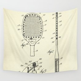 Tennis Racket-1925 Wall Tapestry