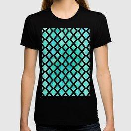 Watercolor Mint Diamonds T-shirt