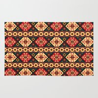 kilim Area & Throw Rugs featuring Colorful Kilim by Pattern Design