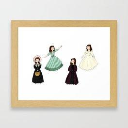 Cosettes Framed Art Print
