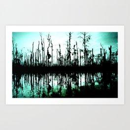 ghost tree I. Art Print