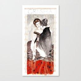 Alina & the Darkling Canvas Print