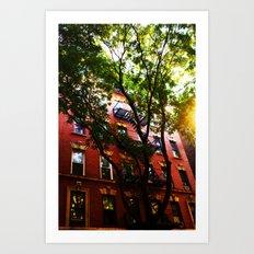 Soho New York Art Print