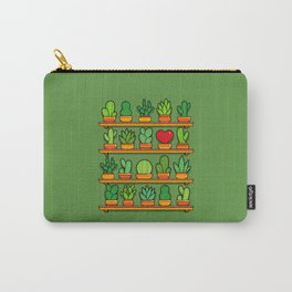 Love Yourself Cactus Heart Carry-All Pouch