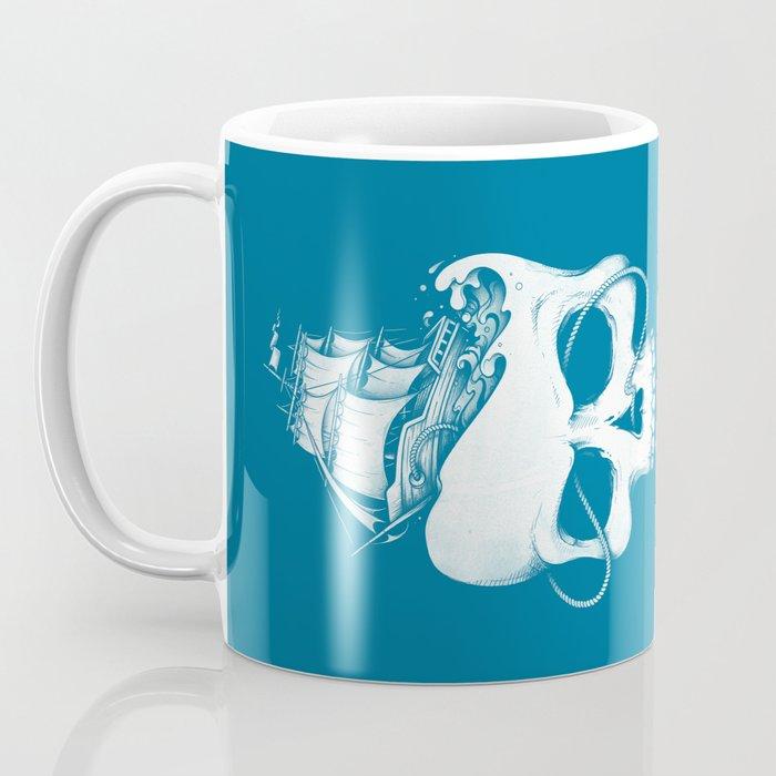 Sailing the Dead Sea Coffee Mug