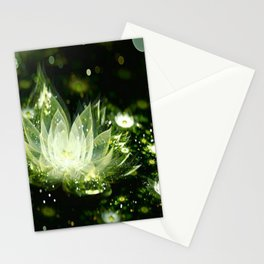 3D Lotus Flower Stationery Cards