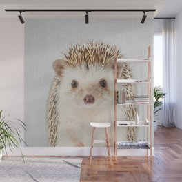 Hedgehog - Colorful Wall Mural