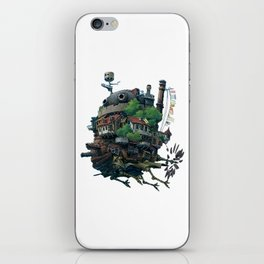 Studio Ghibli - Howl's Moving Castle iPhone Skin