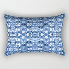 Shibori Mirror Rectangular Pillow
