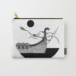 Viking ship Carry-All Pouch