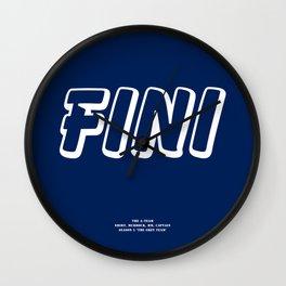 Howlin' Mad Murdock's 'Fini' shirt Wall Clock