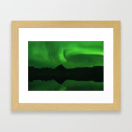 The Northern Lights 06 Framed Art Print
