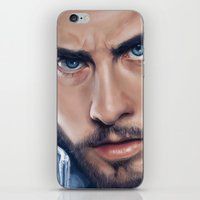 jared leto iPhone & iPod Skins featuring Jared Leto by mari_art89