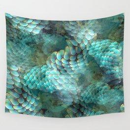 Mermaid Scales Wall Tapestry
