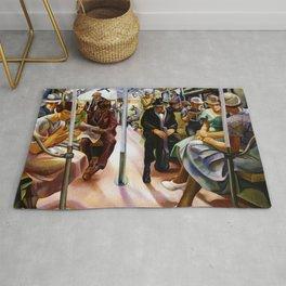 American Masterpiece 'Subway' by Lily Furedi Rug