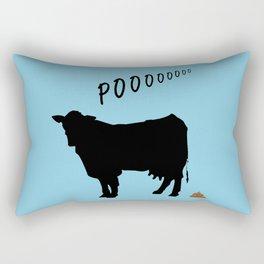 Cow's POO Rectangular Pillow