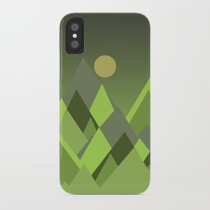 Landscape NC 07 Greenery iPhone Case