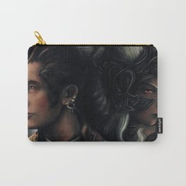 Balthier and Fran Final Fantasy 12 Portraits Carry-All Pouch