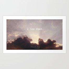 A new dawn Art Print