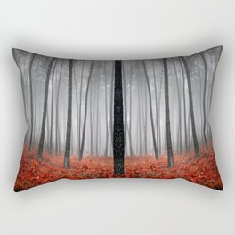 The Scary Forest Rectangular Pillow