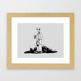 Deadtective Mori Framed Art Print