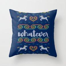 Whatever Throw Pillow