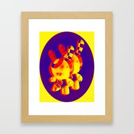 """Double Dunny"" Framed Art Print"