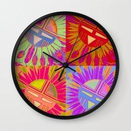 Dios del Sol Wall Clock