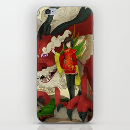 dragon keeper iPhone Skin