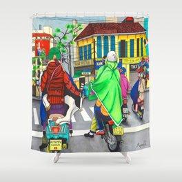Vietnamese Gangsta Shower Curtain