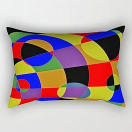 Abstract #95 Gravity Rectangular Pillow