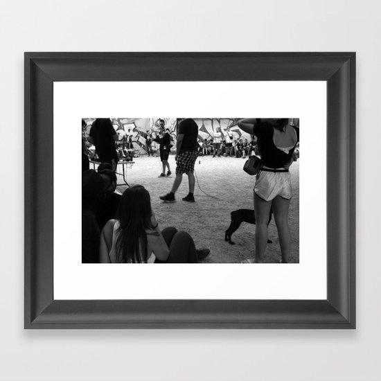 El Barrio Framed Art Print