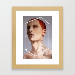 [DIS]OBEY Framed Art Print
