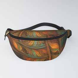 Abstract Totem Fanny Pack