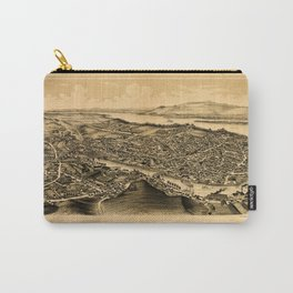 Map Of Catskill 1889 Carry-All Pouch