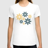 flora T-shirts featuring Flora by Julia Paige Designs